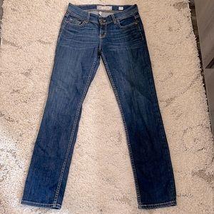 Bke Kate straight leg blue women's jeans size 27R